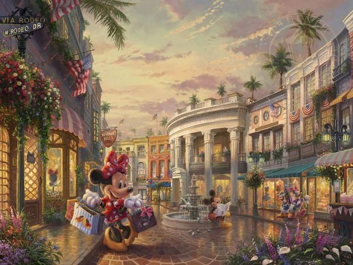 As pinturas deste artista sobre Disney parecem melhores do que os filmes (37 fotos) 27