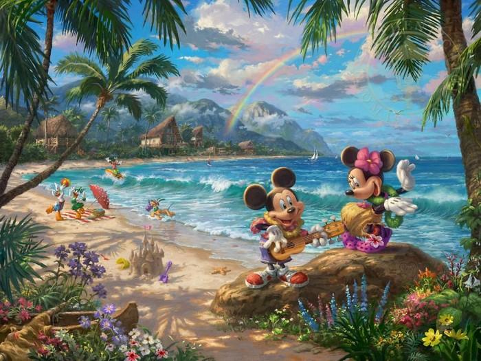 As pinturas deste artista sobre Disney parecem melhores do que os filmes (37 fotos) 28