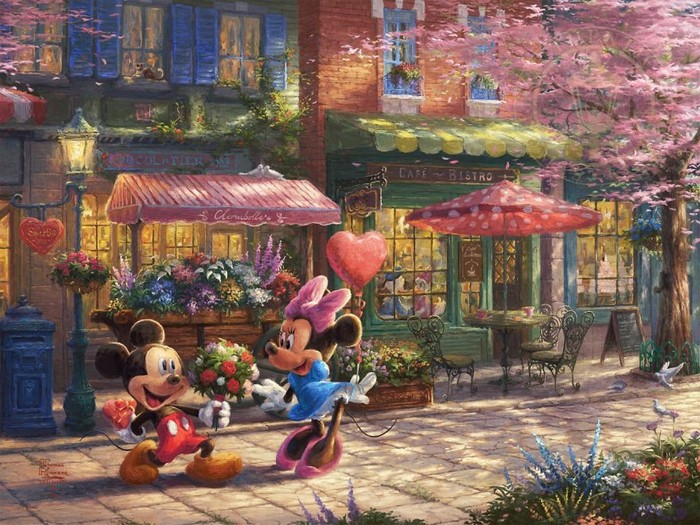 As pinturas deste artista sobre Disney parecem melhores do que os filmes (37 fotos) 29