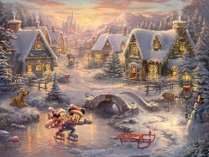 As pinturas deste artista sobre Disney parecem melhores do que os filmes (37 fotos) 30