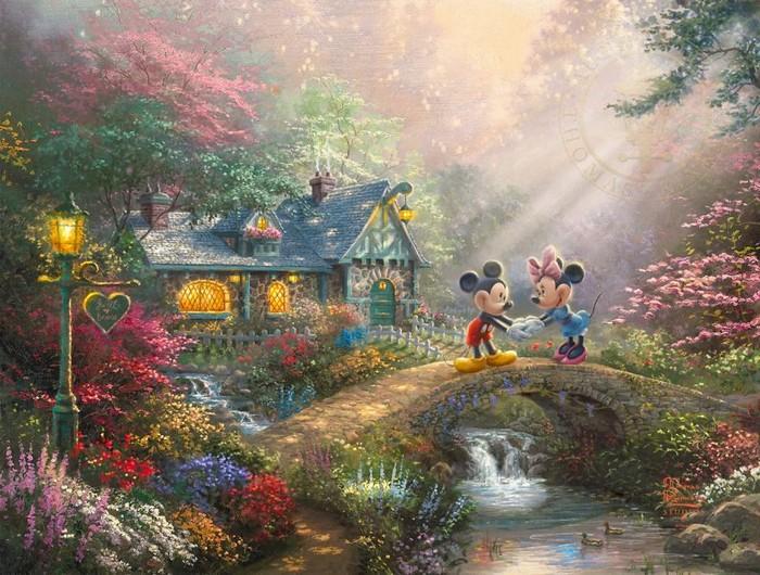 As pinturas deste artista sobre Disney parecem melhores do que os filmes (37 fotos) 31