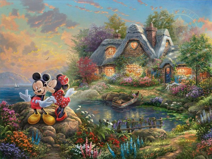 As pinturas deste artista sobre Disney parecem melhores do que os filmes (37 fotos) 32