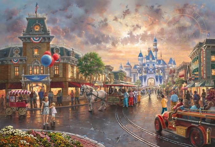 As pinturas deste artista sobre Disney parecem melhores do que os filmes (37 fotos) 33