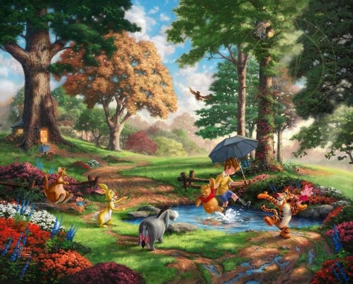 As pinturas deste artista sobre Disney parecem melhores do que os filmes (37 fotos) 35