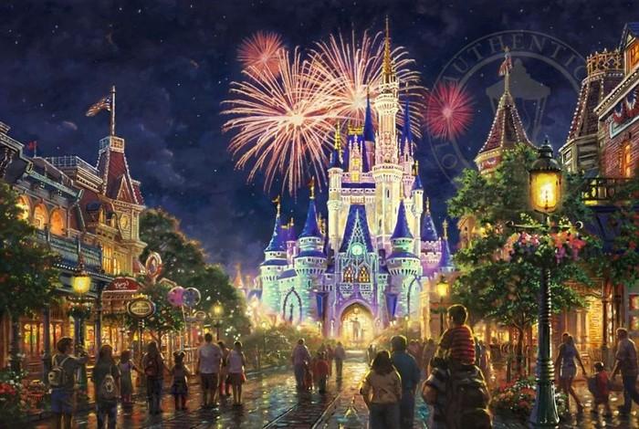 As pinturas deste artista sobre Disney parecem melhores do que os filmes (37 fotos) 36