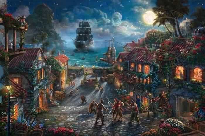 As pinturas deste artista sobre Disney parecem melhores do que os filmes (37 fotos) 37
