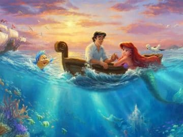As pinturas deste artista sobre Disney parecem melhores do que os filmes (37 fotos) 41