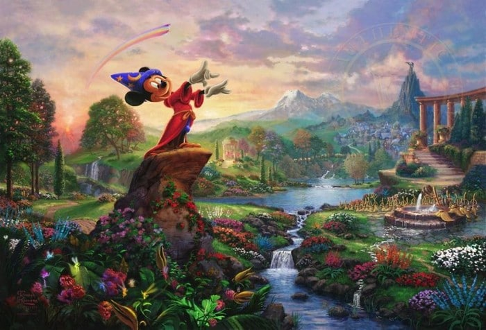 As pinturas deste artista sobre Disney parecem melhores do que os filmes (37 fotos) 38