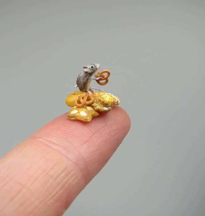 40 animais em miniatura criados pelo renomado artista Fanni Sandor 6