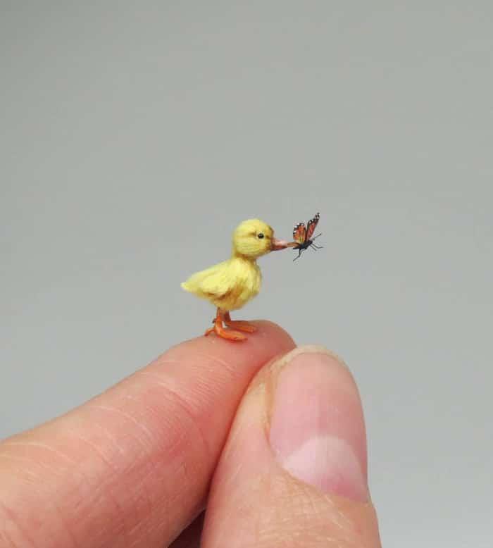 40 animais em miniatura criados pelo renomado artista Fanni Sandor 13