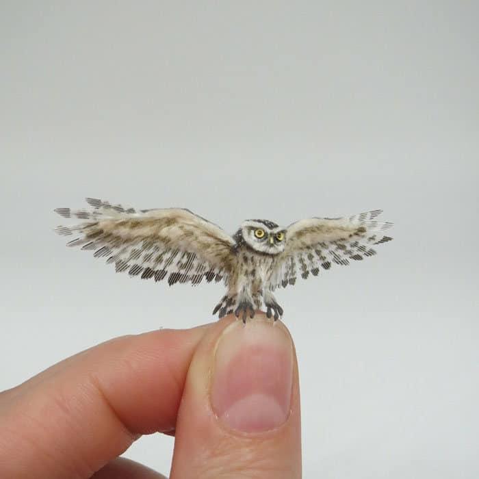 40 animais em miniatura criados pelo renomado artista Fanni Sandor 22