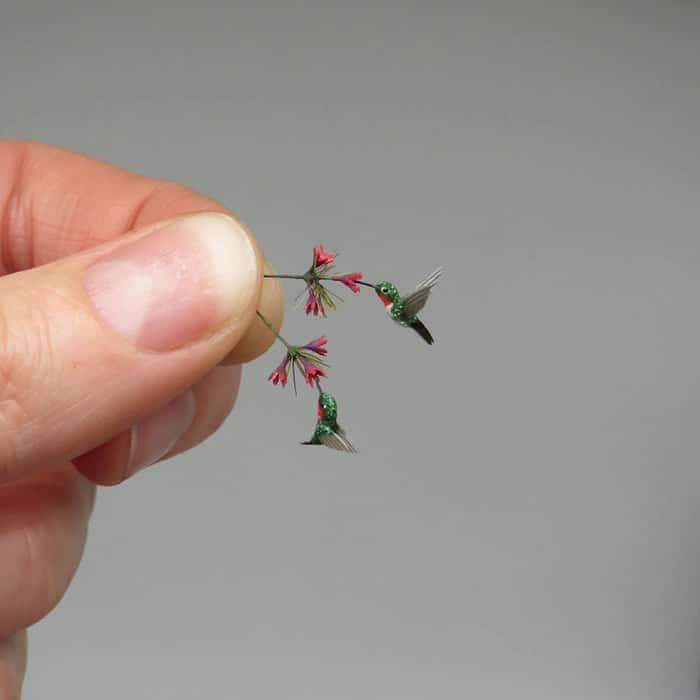 40 animais em miniatura criados pelo renomado artista Fanni Sandor 25