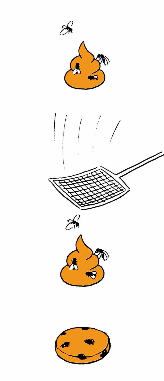 Artista chinês desenha quadrinhos engraçados com reviravoltas surpresa (35 fotos) 2