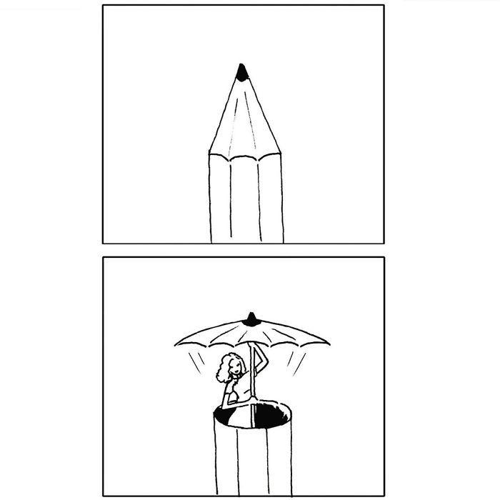 Artista chinês desenha quadrinhos engraçados com reviravoltas surpresa (35 fotos) 8
