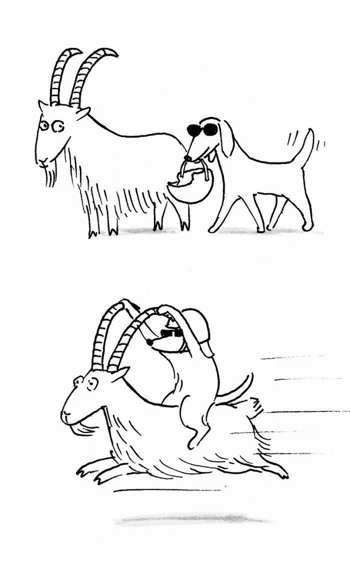Artista chinês desenha quadrinhos engraçados com reviravoltas surpresa (35 fotos) 10