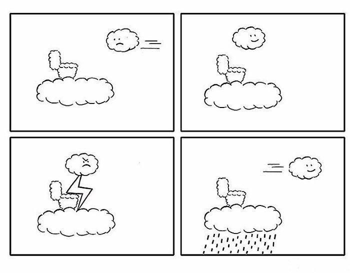 Artista chinês desenha quadrinhos engraçados com reviravoltas surpresa (35 fotos) 20