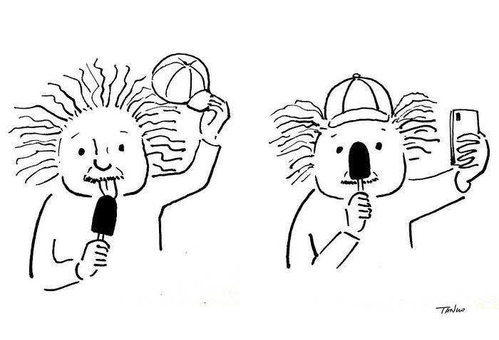Artista chinês desenha quadrinhos engraçados com reviravoltas surpresa (35 fotos) 24