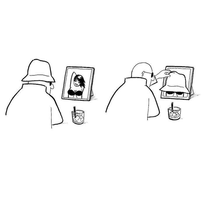Artista chinês desenha quadrinhos engraçados com reviravoltas surpresa (35 fotos) 26