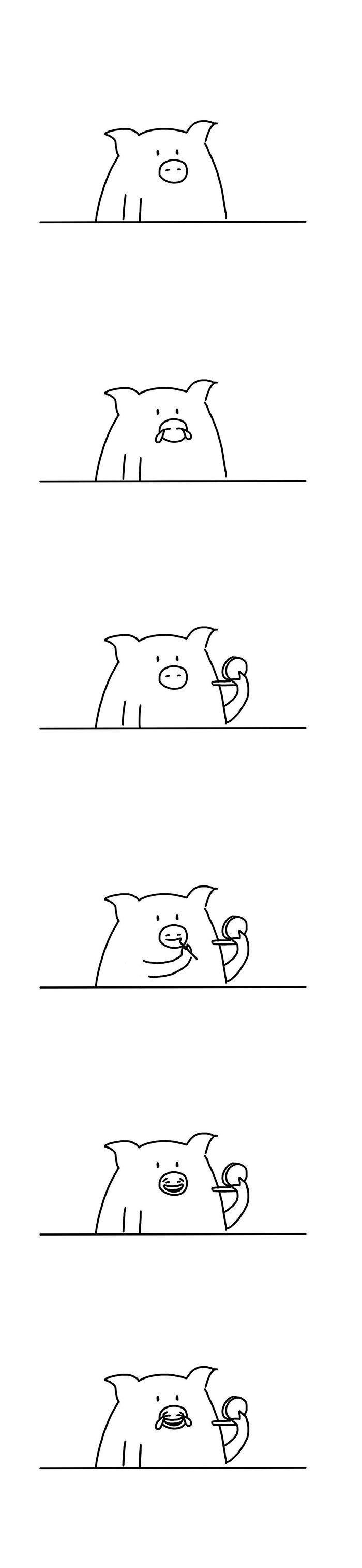 Artista chinês desenha quadrinhos engraçados com reviravoltas surpresa (35 fotos) 33