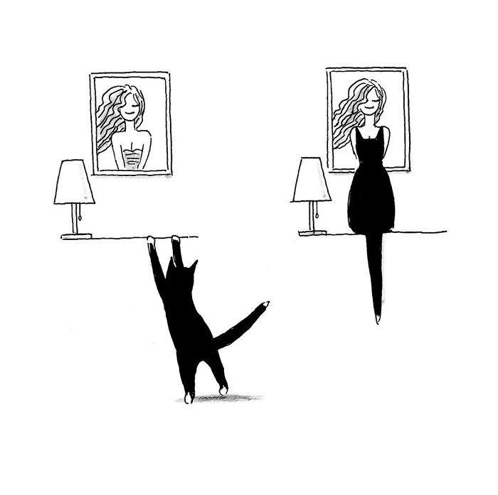 Artista chinês desenha quadrinhos engraçados com reviravoltas surpresa (35 fotos) 34