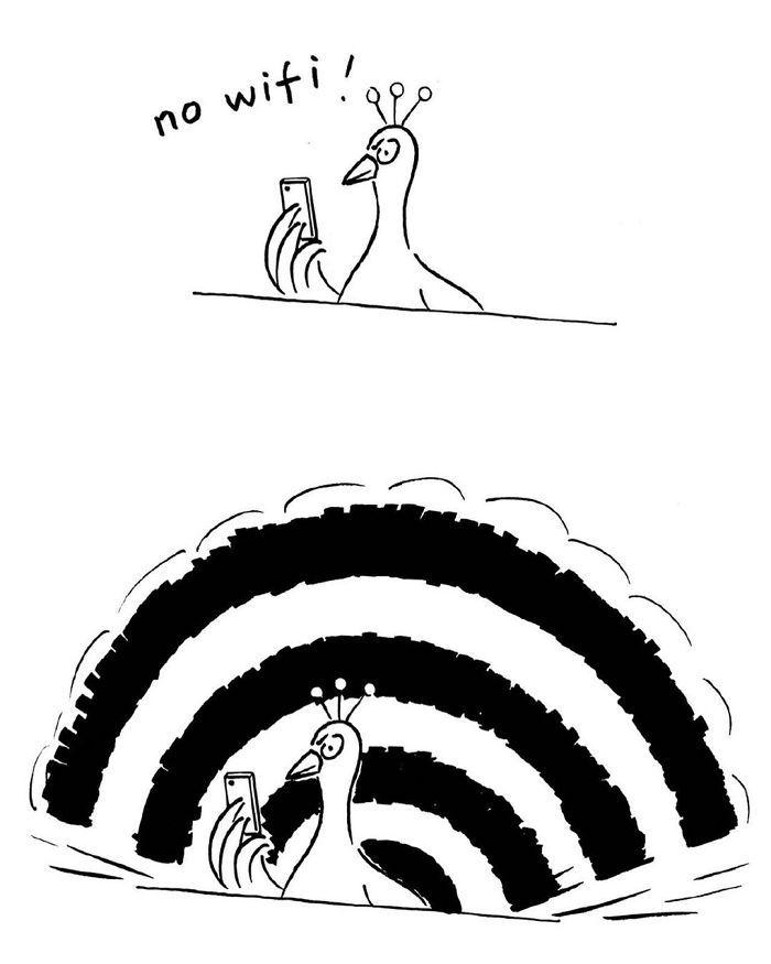 Artista chinês desenha quadrinhos engraçados com reviravoltas surpresa (35 fotos) 35