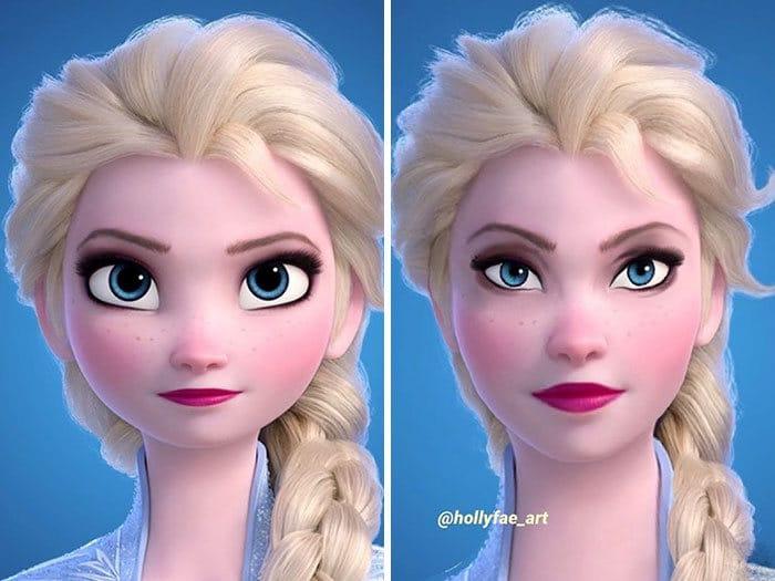 Artista faz personagens da Disney parecerem mais realistas (10 fotos) 2