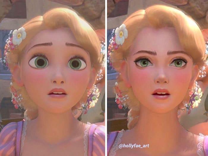 Artista faz personagens da Disney parecerem mais realistas (10 fotos) 5