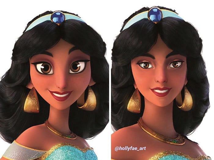 Artista faz personagens da Disney parecerem mais realistas (10 fotos) 9