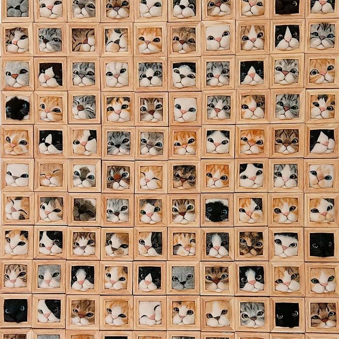 Artista japonesa cria retratos ultrarrealistas de gatos (34 fotos) 3
