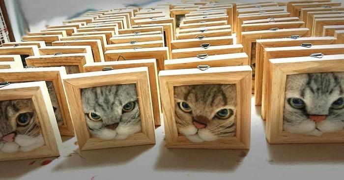 Artista japonesa cria retratos ultrarrealistas de gatos (34 fotos) 6