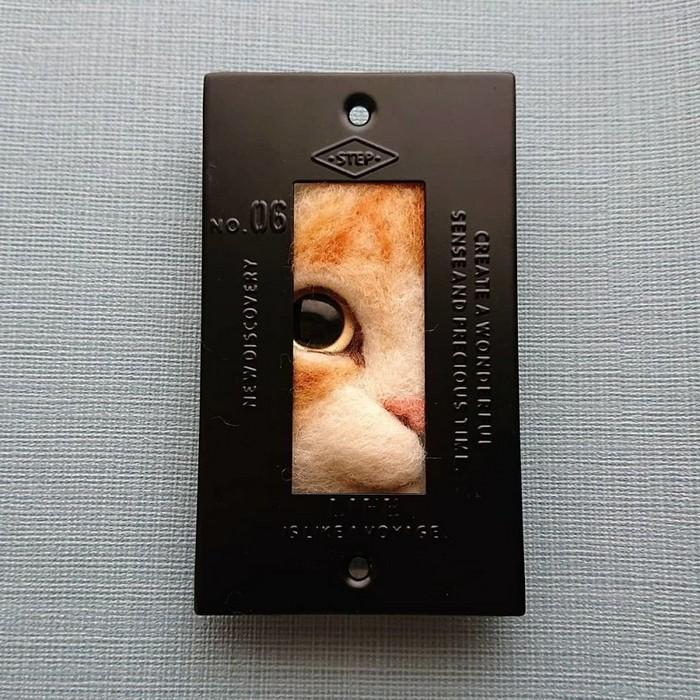 Artista japonesa cria retratos ultrarrealistas de gatos (34 fotos) 7