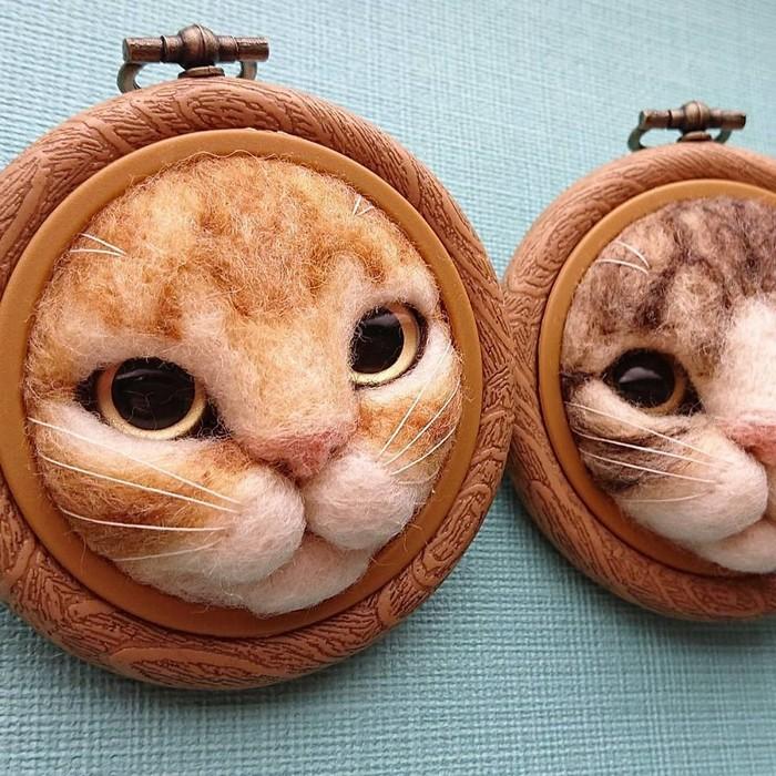 Artista japonesa cria retratos ultrarrealistas de gatos (34 fotos) 9