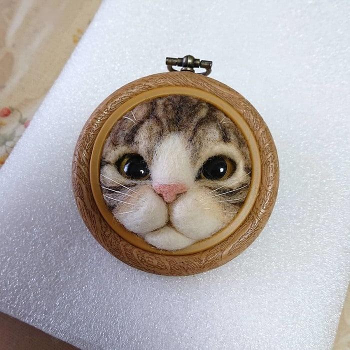 Artista japonesa cria retratos ultrarrealistas de gatos (34 fotos) 10