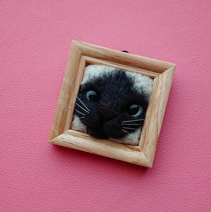 Artista japonesa cria retratos ultrarrealistas de gatos (34 fotos) 11