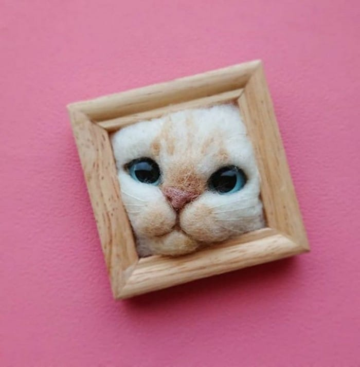 Artista japonesa cria retratos ultrarrealistas de gatos (34 fotos) 12