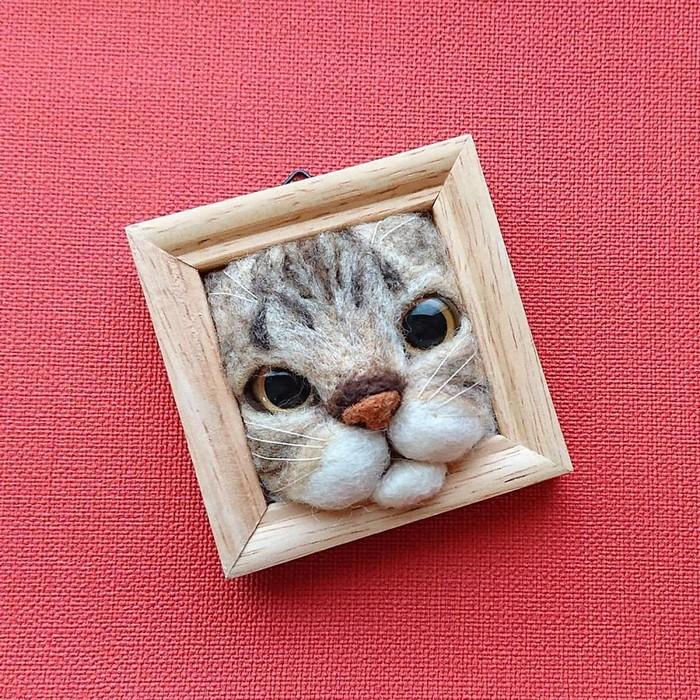 Artista japonesa cria retratos ultrarrealistas de gatos (34 fotos) 15
