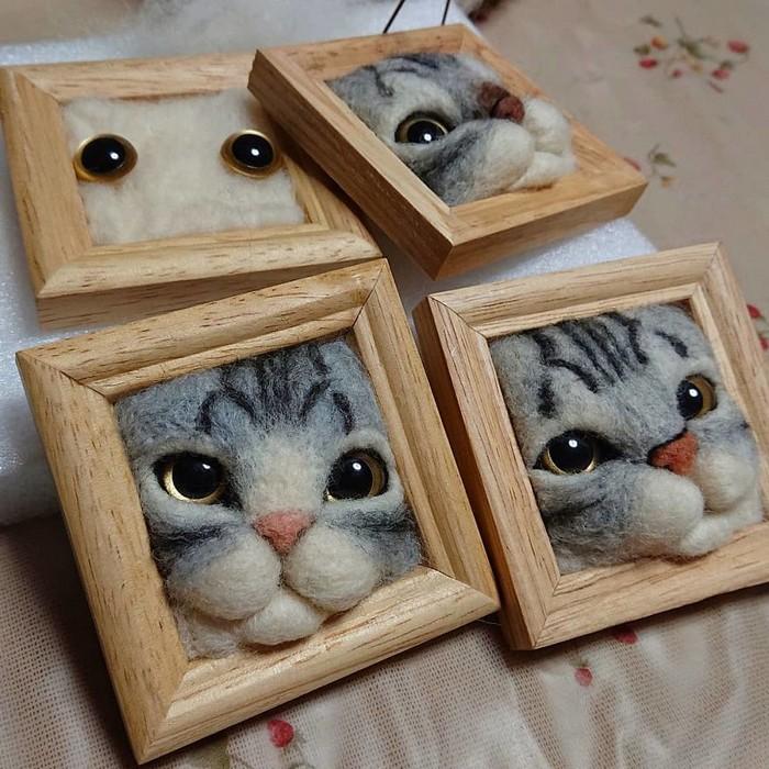 Artista japonesa cria retratos ultrarrealistas de gatos (34 fotos) 16