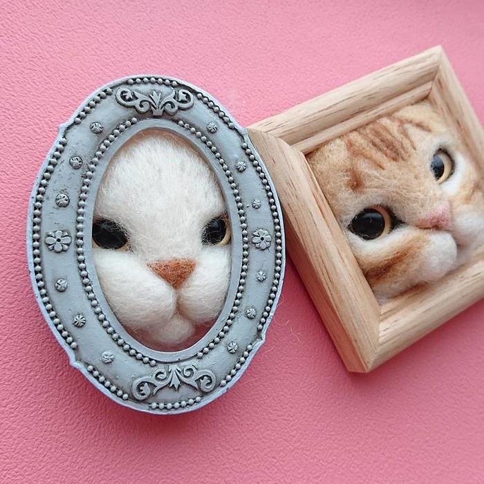 Artista japonesa cria retratos ultrarrealistas de gatos (34 fotos) 17