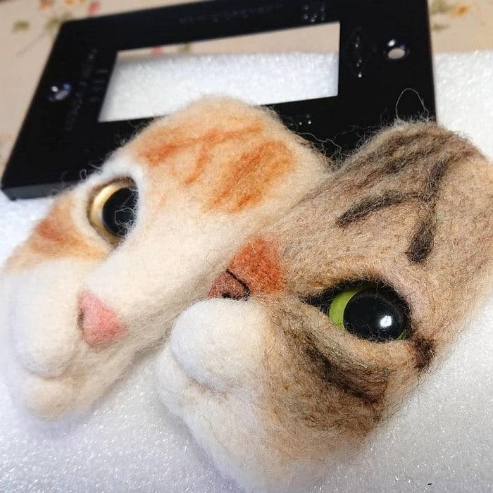 Artista japonesa cria retratos ultrarrealistas de gatos (34 fotos) 19