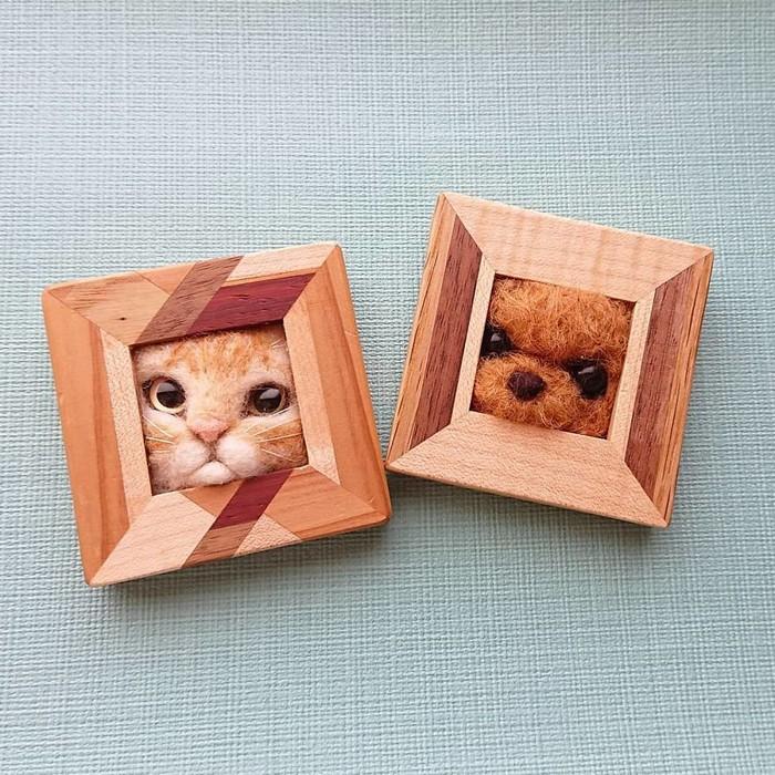 Artista japonesa cria retratos ultrarrealistas de gatos (34 fotos) 22