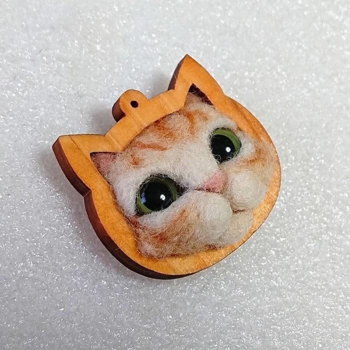 Artista japonesa cria retratos ultrarrealistas de gatos (34 fotos) 24