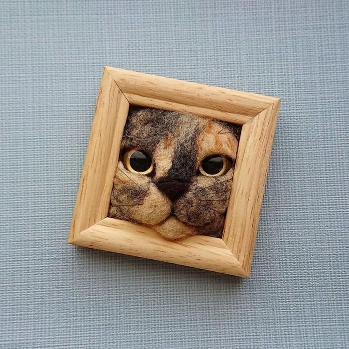 Artista japonesa cria retratos ultrarrealistas de gatos (34 fotos) 27