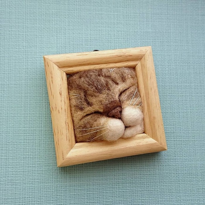 Artista japonesa cria retratos ultrarrealistas de gatos (34 fotos) 28