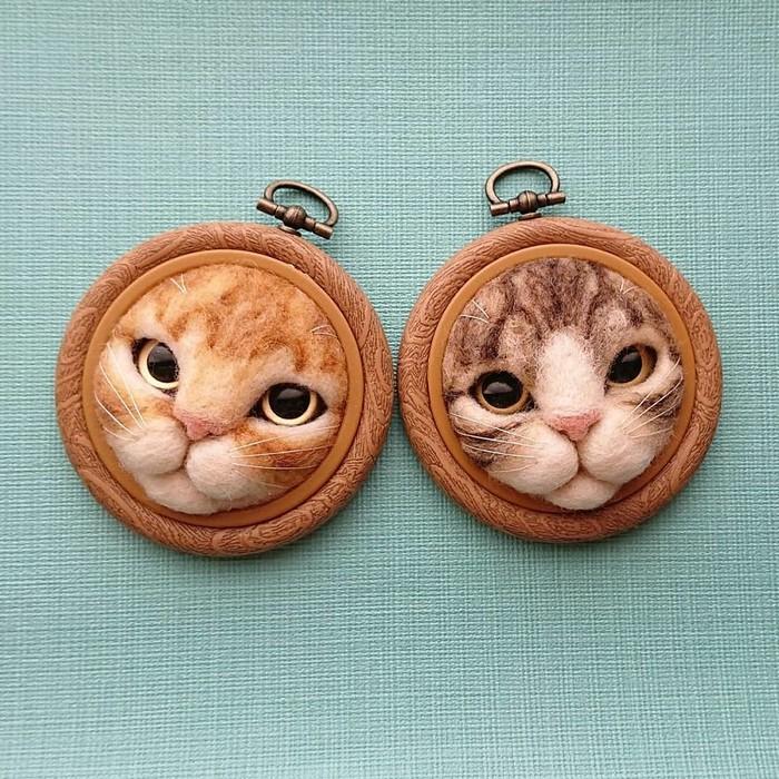 Artista japonesa cria retratos ultrarrealistas de gatos (34 fotos) 29