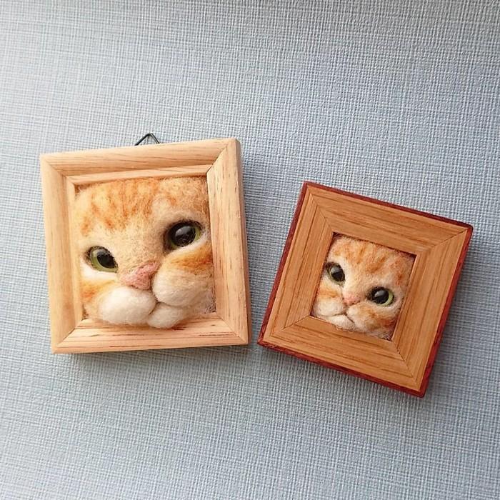 Artista japonesa cria retratos ultrarrealistas de gatos (34 fotos) 32