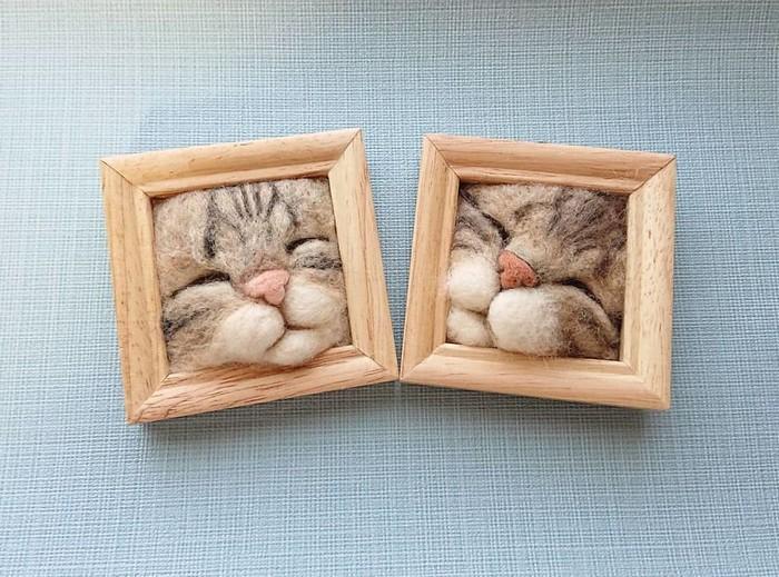 Artista japonesa cria retratos ultrarrealistas de gatos (34 fotos) 33