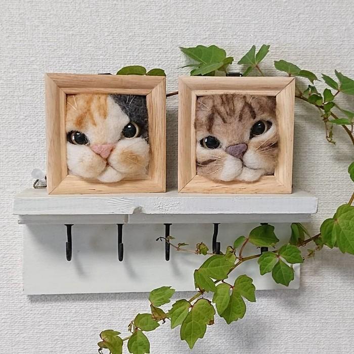 Artista japonesa cria retratos ultrarrealistas de gatos (34 fotos) 34