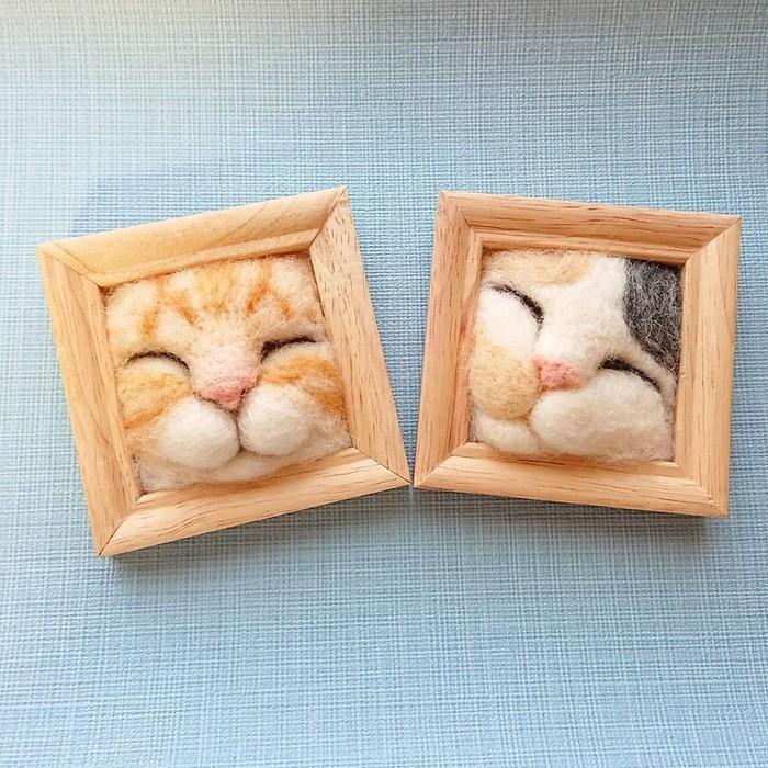 Artista japonesa cria retratos ultrarrealistas de gatos (34 fotos) 35
