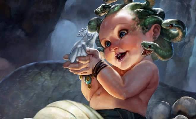 Artista retrata criaturas místicas em sua forma vulnerável, quando ainda eram bebês (30 fotos) 45