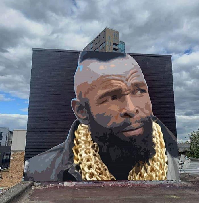 Artista sul-africano pinta grafites incríveis que interagem com o ambiente (32 fotos) 9